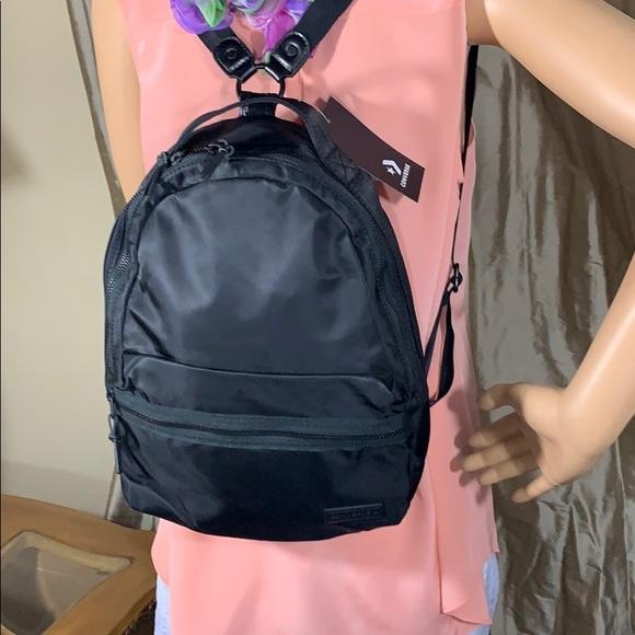 Converse Unisex-Adult Mini Backpack Black